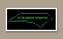 3270 Green Screens